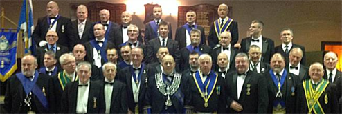 Lodge Alexandra Officers